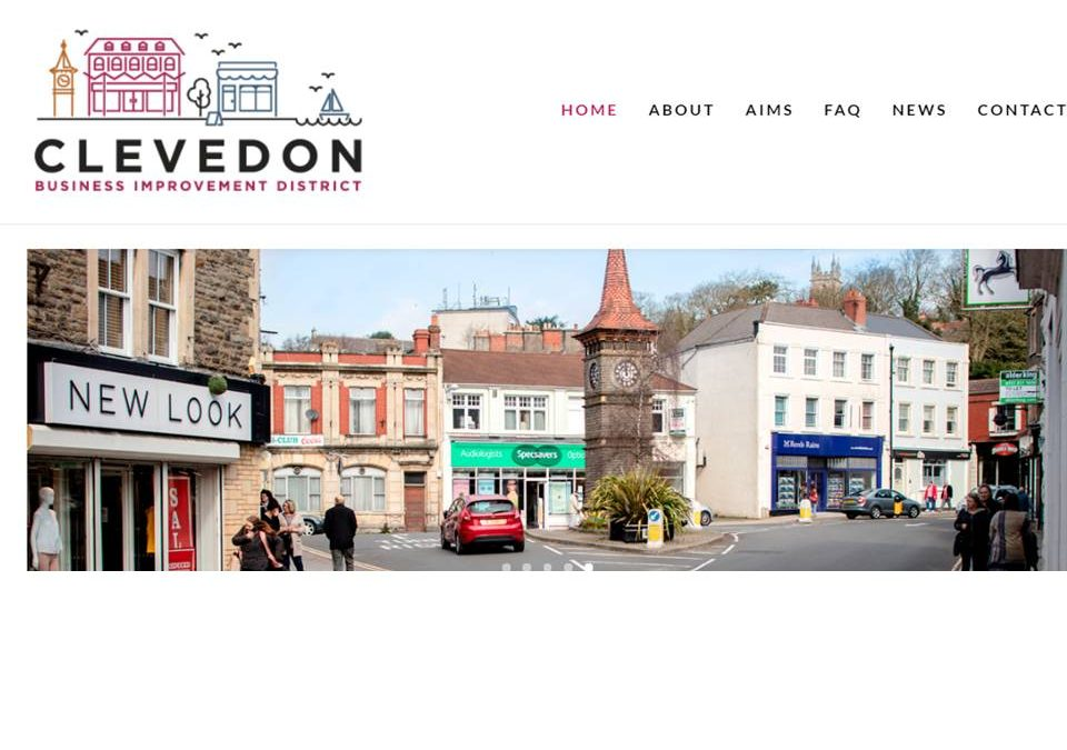 Clevedon BID launches new website
